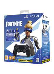 Sony PlayStation DualShock 4 Wireless Controller with Fornite Voucher for PlayStation PS4, Black
