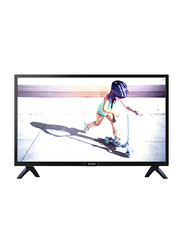 Philips 32-Inch HD Slim LED Standard TV, 32PHT4002 , Black