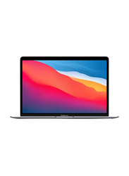 "Apple MacBook Air Laptop, 13"" Retina Display, Apple M1 Chip 8-Core, 256GB SSD, 8GB RAM, Apple 7-Core GPU, Eng/Arb KB w/TB, macOS, MGN63AB/A, Space Gray"