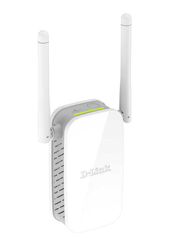 D-Link N300 DL-DAP1325 Wireless Range Extender, White