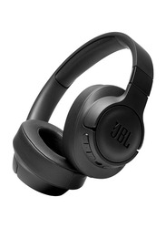 JBL Tune 750BTNC Wireless On-Ear Noise Canceling Headphones with Mic, Black