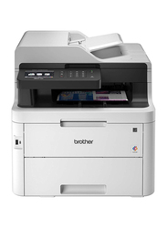 Brother BG-MFCL3750CDW Digital Color All-in-One Printer, White