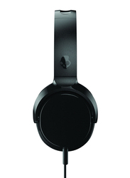Skullcandy Riff 3.5 mm Jack On-Ear Headphones with Mic, Black