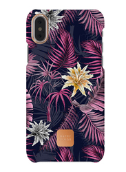 Happy Plugs Apple iPhone X Carbon Fiber Protective Mobile Phone Case Cover, Hawaiian Nights