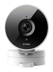 D-Link DCS-8010LH WiFi Indoor Security Camera, HD, Cloud Recording, White