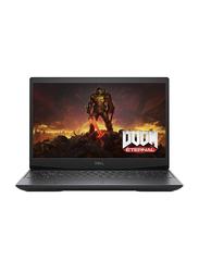 DELL G5 Gaming Laptop, 15.6 inch FHD Display, Intel Core i7-10750H 10th Gen 2.6GHz, 512GB SSD, 16GB RAM, 6GB NVIDIA GeForce GTX 1660 Ti Graphics, EN KB, Win 10 Home, 5500-G5-E1700-BLK, Black