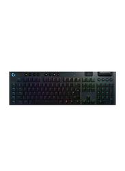 Logitech G915 Lightspeed RGB Mechanical Wireless English Gaming Keyboard, Black