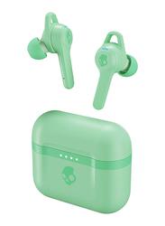 Skullcandy Indy Evo True Wireless In-Ear Earbuds with Mic, Mint
