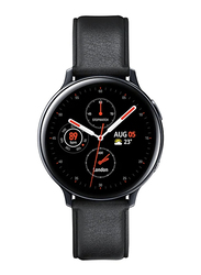 Samsung Galaxy Active 2 - 44mm Smartwatch, GPS, Black Stainless Steel Case with Black Fluorcelastomer Band