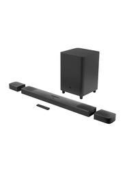 JBL 9.1 Channel True Wireless Sound Bar with Subwoofer Surround Speaker, Black