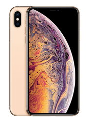 Apple iPhone XS Max 256GB Gold, Without FaceTime, 4GB RAM, 4G LTE, Dual Sim Smartphone