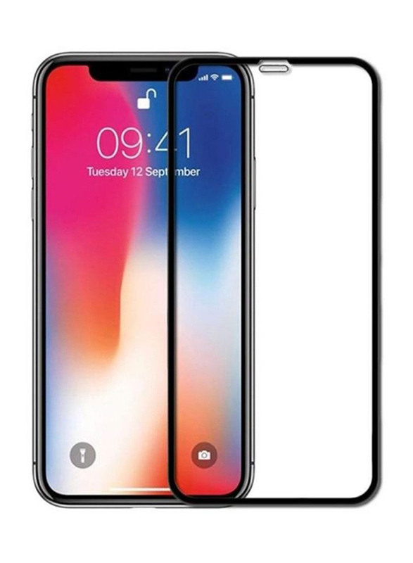 Max & Max Apple iPhone 11 Tempered Glass Screen Protector, with Mobile Phone Back Cover Case, Clear