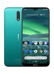 Nokia 2.3 32GB Cyan Green, 2GB RAM, 4G LTE, Dual Sim Smartphone