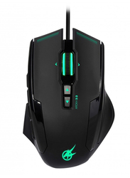 Port Arokh X-3 Wired Optical Gaming Mouse, Black