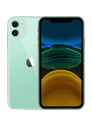 Apple iPhone 11 64GB Green, Without FaceTime, 4GB RAM, 4G LTE, Dual Sim Smartphone