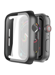 Hyphen HAW-BL407336 Protector Tempered Glass for Apple Watch 40mm, Black