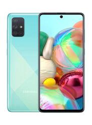 Samsung Galaxy A71 128GB Blue, 8GB RAM, 4G LTE, Dual Sim Smartphone