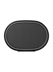 Sony SRS-XB01 Extra Bass Water Resistant Wireless Portable Bluetooth Speaker with Microphone, Black