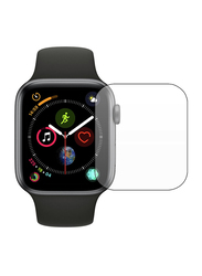 Inet Tempered Glass Screen Protector for Apple Watch 44mm, Clear