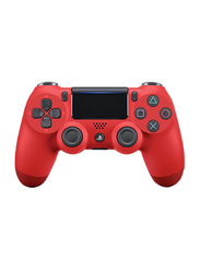 Sony Dualshock 4 V2 Wireless Controller for PlayStation PS4, Red