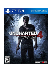 Uncharted 4 for PlayStation 4 (PS4) by Naughty Dog