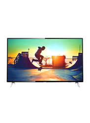 Philips 50-Inch 4K Ultra Slim LED Smart TV, 50PUT6103, Black