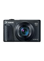 Canon Power Shot SX740 HS Digital Camera, 20.3MP, 4K, 40x Optical Zoom, Black