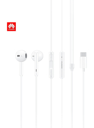Huawei Stereo In-Ear Headphones with USB-C Connector, White