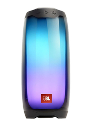 JBL Pulse 4 Water Resistant Portable Bluetooth Speaker, Black
