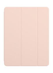 Apple Tablet Smart Folio for 12.9-inch Apple iPad Pro 3rd Gen, Pink Sand