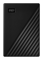 Western Digital 2TB HDD My Passport External Portable Hard Drive, USB 3.2, WDBYVG0020BBK-WESN, Black