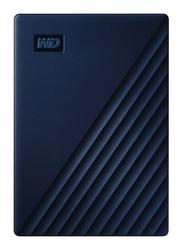 Western Digital 4TB HDD My Passport External Portable Hard Drive, USB 3.0, WDBA2F0040BBL-WESN, Dark Blue