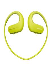 Sony NW-WS413 Waterproof and Dustproof In-Ear Walkman Headphones, 4GB, Green
