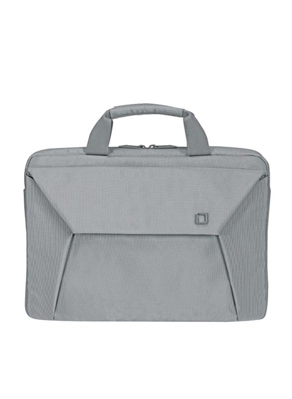 Dicota Slim Case Edge 12-13.3-inch Messenger Laptop Bag, Grey