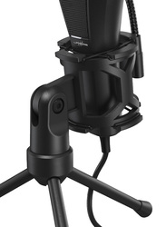 Hama Urage Stream 400+ Gaming Microphone, Black