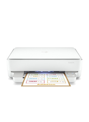 HP DeskJet Plus Ink Advantage 6075 5SE22C All-in-One Printer, White