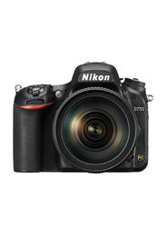 Nikon D750 DSLR Camera with 24-120mm Lens, 24.3MP, Full HD, Black