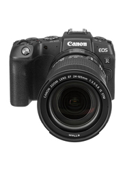 Canon EOS RP Mirrorless Digital Camera with EF 24-105mm f/3.5-5.6 STM Lens/Mount Adapter, 26.2MP, 4K, Black