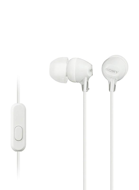 Sony MDREX15 3.5 mm Jack In-Ear Headphones, White