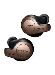 Jabra Elite 65t True Wireless In-Ear Noise Isolation Earbuds, Copper Black