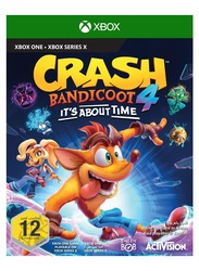 Crash Bandicoot 4 Video Game for Xbox One by Activision Blizzard