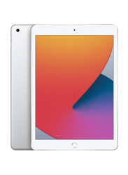 Apple iPad 8th Gen 2020 32GB Silver 10.2-inch Tablet, With FaceTime, WiFi Only