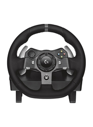 Logitech G920 Driving Force Racing Wheel for Microsoft Xbox One and PC, Black