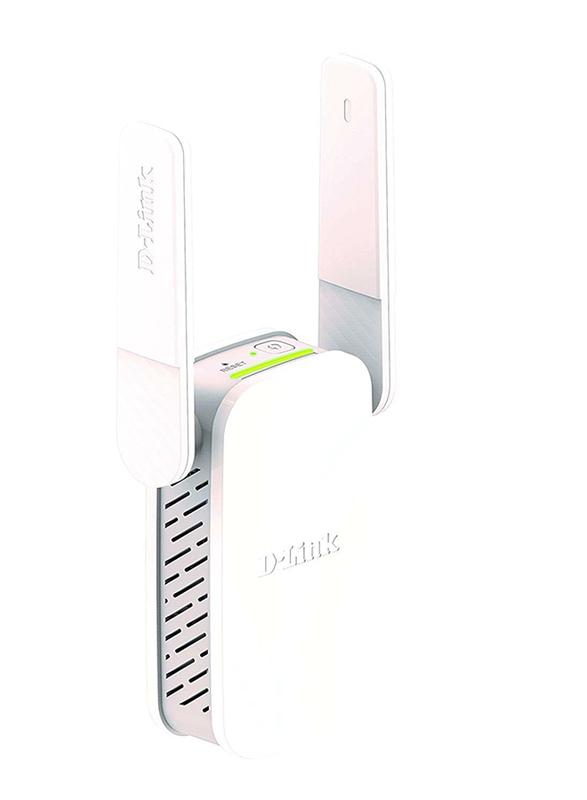 D-Link DL-DAP1530 Dual Band Wi-Fi Range Extender AC750, White