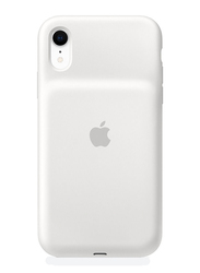 Apple Smart Battery Silicone Case for Apple iPhone XR, White