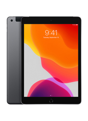 Apple iPad 7th Generation 128GB Space Gray 10.2-inch Tablet, Without FaceTime, 3GB RAM, WiFi+ 4G LTE