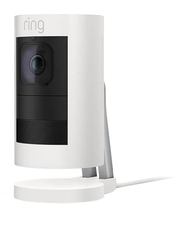 Ring Indoor Stick Up Wired Surveillance Camera, 1080p, Full HD, White