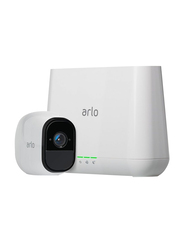 Netgear Arlo Pro 2 Smart Security Camera, 1080p, Full HD, White