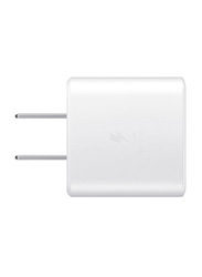 Samsung US Wall Charger, USB Type-C, 45W, White