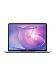 "Huawei Matebook 13 Laptop, 13"" IPS Touch Display, Intel Core i7-10510U 10th Gen 1.8GHz, 512GB SSD, 16GB RAM, NVIDIA MX250 2GB Graphics, EN KB, Win 10, MATEBOOK 13-53010ULE, Space Grey"